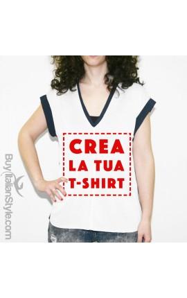 "Curvy t-shirt ""Personalizzata"""