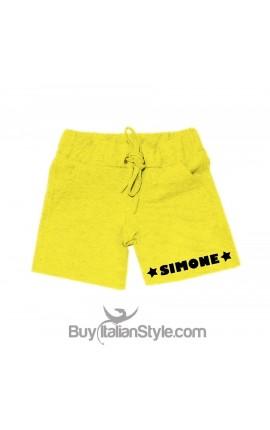 Customizable baby boy shorts