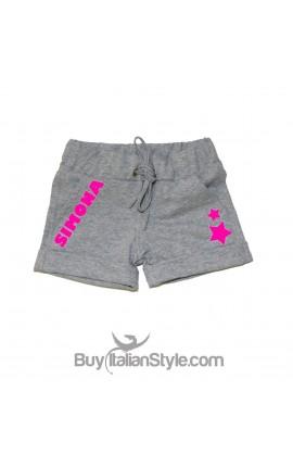 Shorts bimba personalizzabili