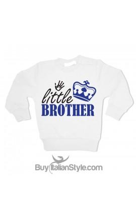 "Little boy sweatshirt ""Little brother"""