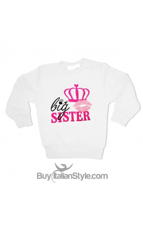 """Felpa bimba """"Big sister"""""""