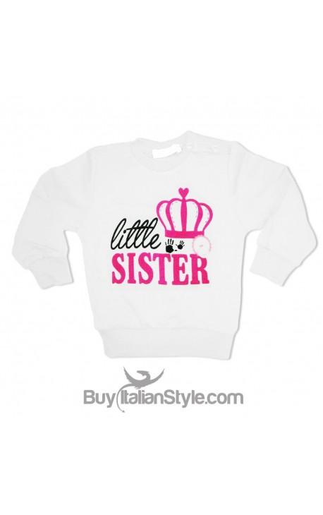 "Felpa bimba ""little sister"""