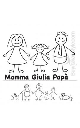 """Sticker famiglia """"Nonno"""""""