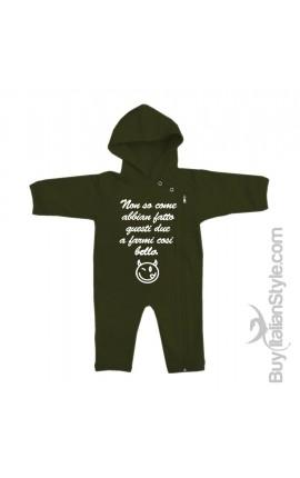 felpa intera per neonato on-line