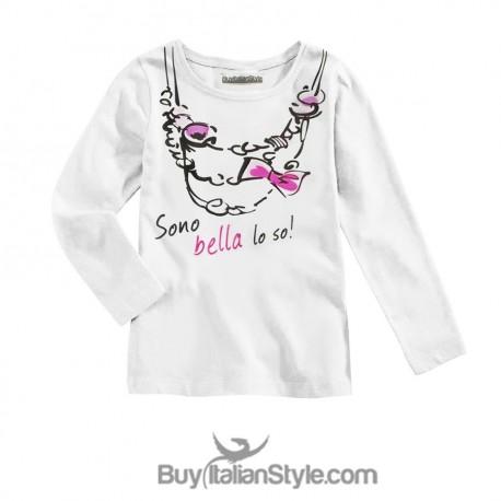 """T-shirt bimba """"Sono bella lo so"""""""