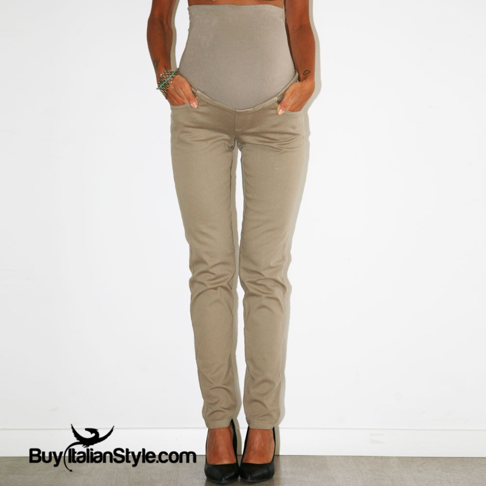 check-out a9e1a 28527 pantaloni gravidanza con fascia elastica
