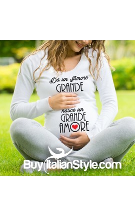 T-shirt premaman Amore Grande