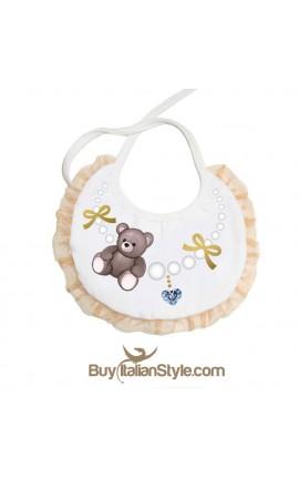 Organdie bib BABY BEAR