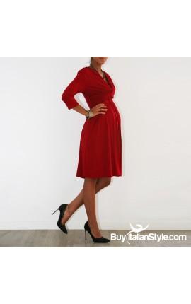 Maternity and breastfeeding dress