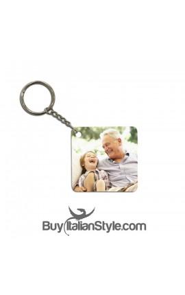 Portachiave personalizzabile con foto