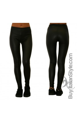 Leggings Ecopelle Donna