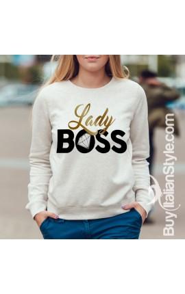 "Felpa Donna - ""Lady boss"""