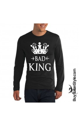 "Men's t-shirt ""BAD KING"""