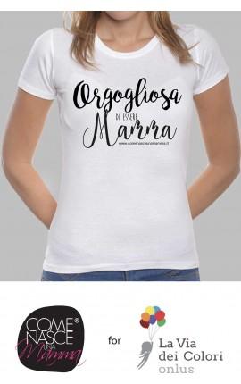 """T-shirt Donna """"Orgogliosa di essere mamma"""""""
