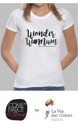 "T-shirt Donna ""Wonder WoMum"""