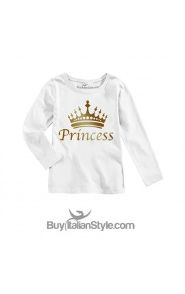 "Long sleeve t-shirt ""princess"""