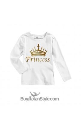 "Maglietta bimba ""Princess"""
