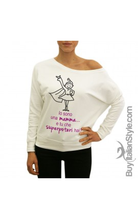"Women's sweatshirt ""I'M A MUM WHAT IS YOUR SUPERPOWER?"""