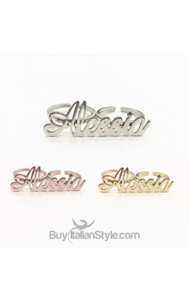 Two Finger Name Ring