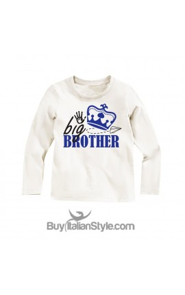 "long sleeve t-shirt ""big brother"""