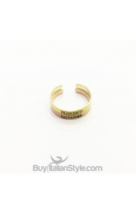 Two-bands Stackable Rings 3mm