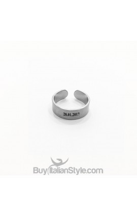 Customizable Name Ring 6mm