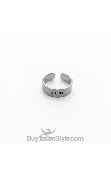 Customizable Name Ring 6mm