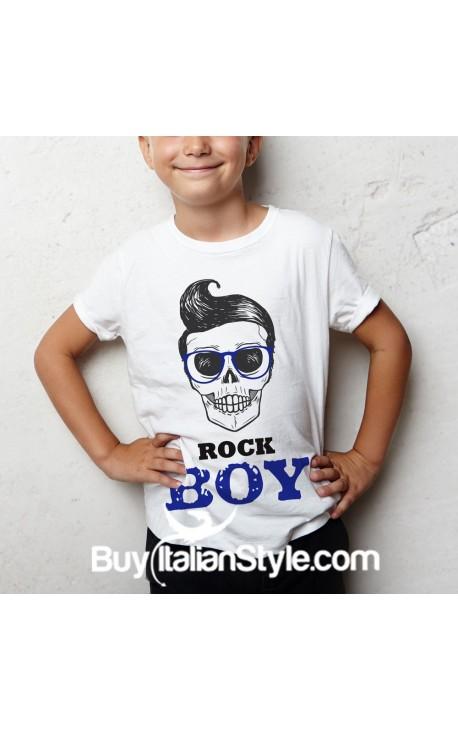 "Boy's T-Shirt ""ROCK BOY"""