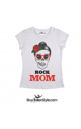 "Women's T-shirt ""ROCK MOM"""