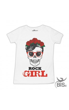 "T-shirt bimba ""Rock girl"""