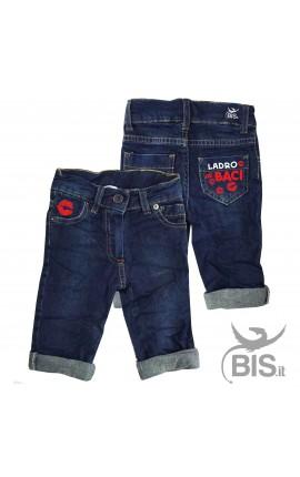"""Jeans bimbo """"Ladro di baci"""""""