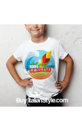 "T-shirt ""100% genuino senza olio di palma"""
