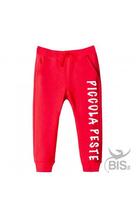 Pantaloni felpa leggera Piccola Peste
