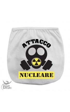 Mutandina copri-pannolino Attacco Nucleare