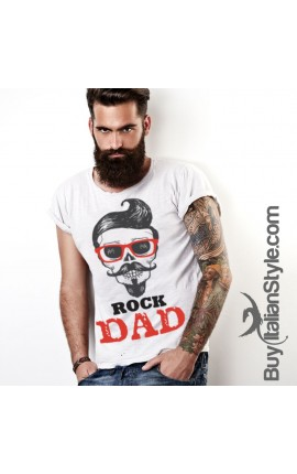 "T-shirt uomo ""Rock Dad"""