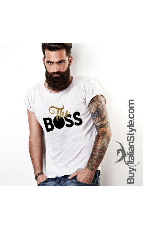 "T-shirt uomo ""The Boss"""