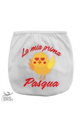 Copri-pannolino Prima Pasqua emoticon pulcino