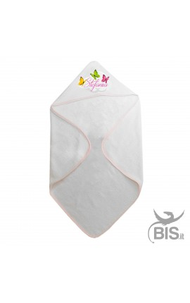 Cuddledry hooded towel with...