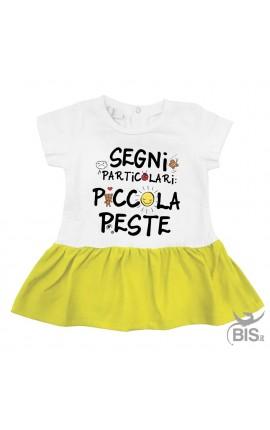 """Abitino neonata """"Piccola Peste"""""""