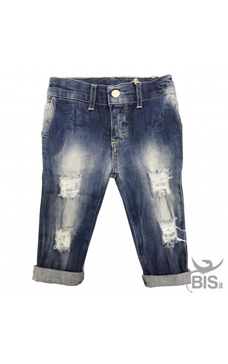 Jeans bimbo Strappati