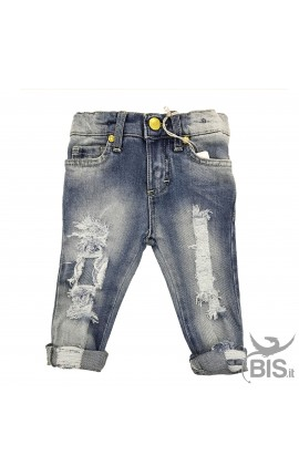 Jeans BIMBA Strappati super SLIM