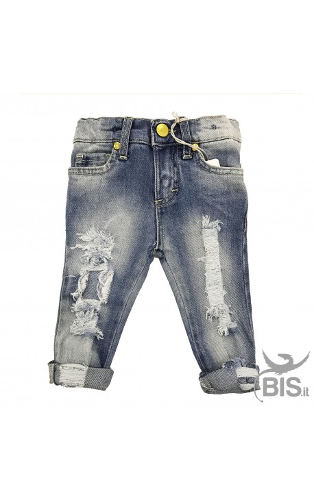 Baby girl Ripped Jeans super SLIM