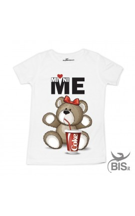 T-shirt bimba ORSO mini-me COKE