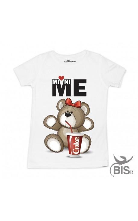 T-shirt bimba ORSO mini-me COKE