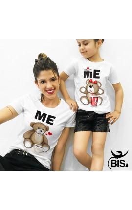 t-shirt bimba orso