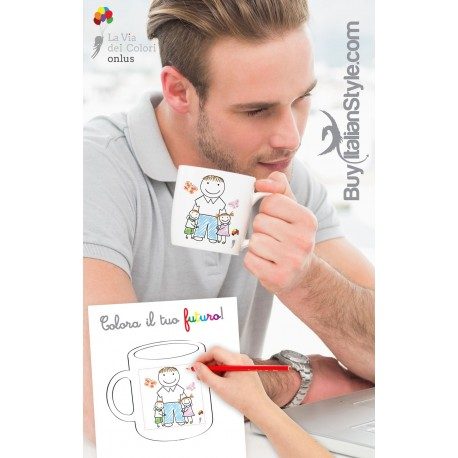 tazza personalizzabile colora il tuo futuro