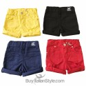 Shorts COLOR with rips