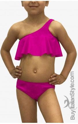 Bikini Volant per neonate e bambine da  abbinare alla mamma