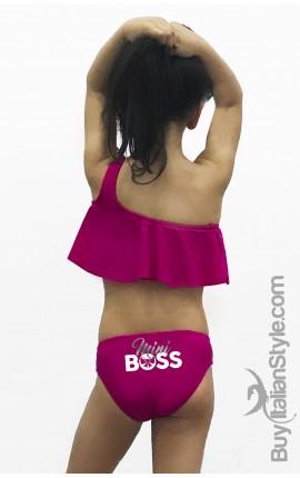 "Bikini Volant bimba ""Mini Boss"""