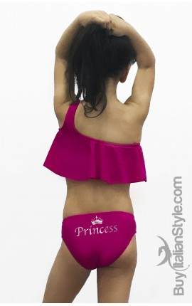 "Baby & Girl Ruffle Swimsuit ""Princess"""